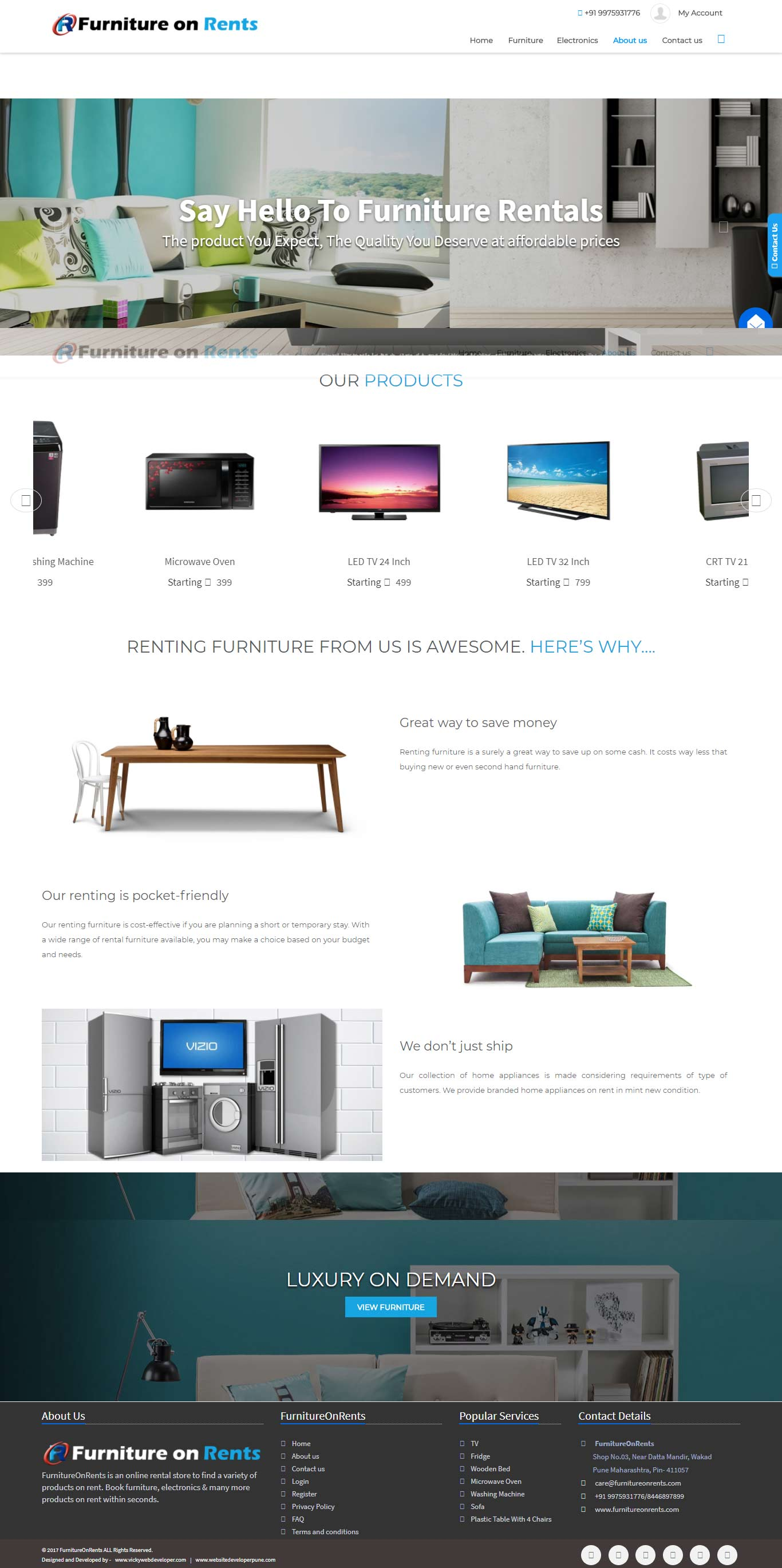 furnitureonrents-com-website-developer-pune-portfolio