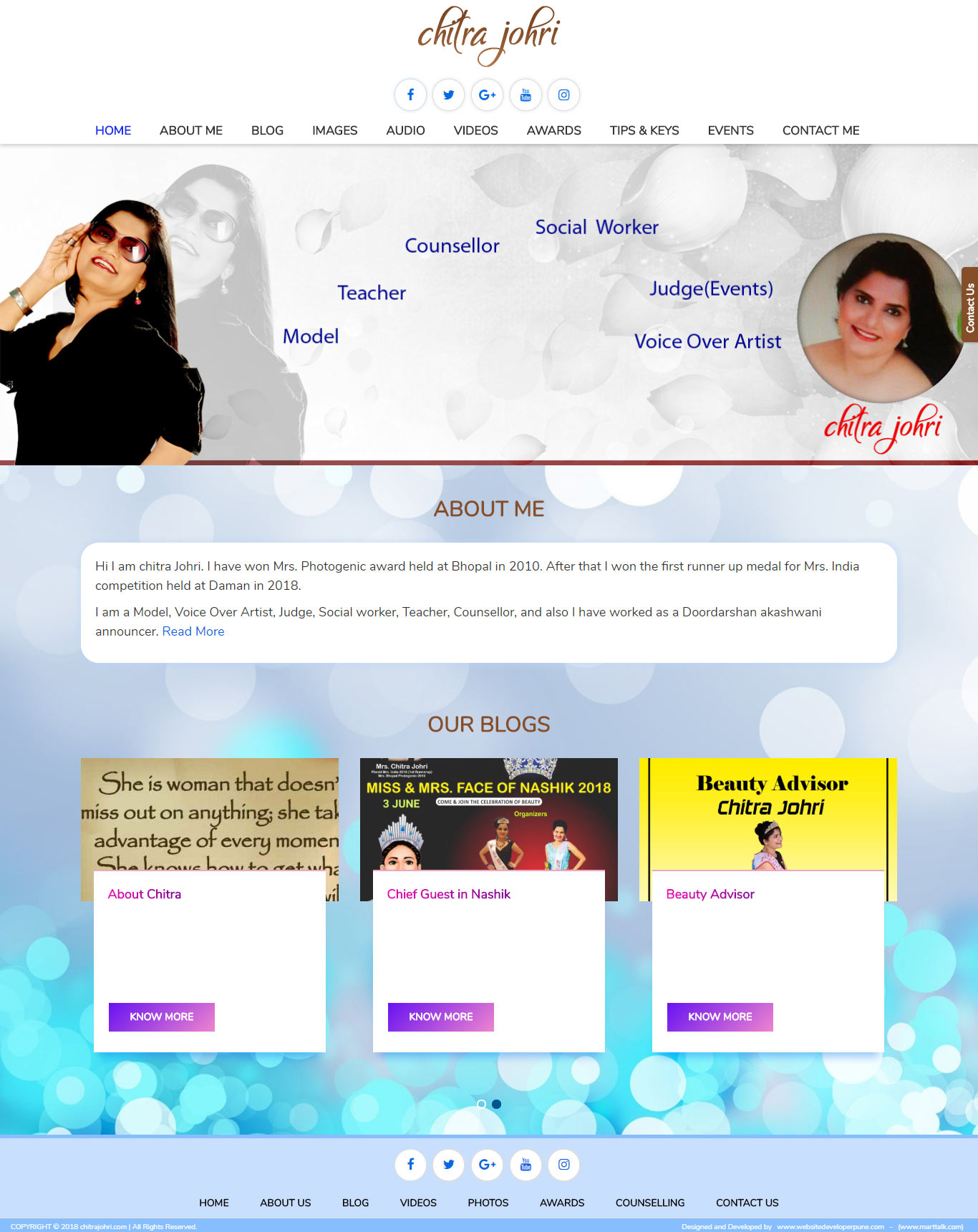 chitrajohri-com-website-developer-pune-portfolio